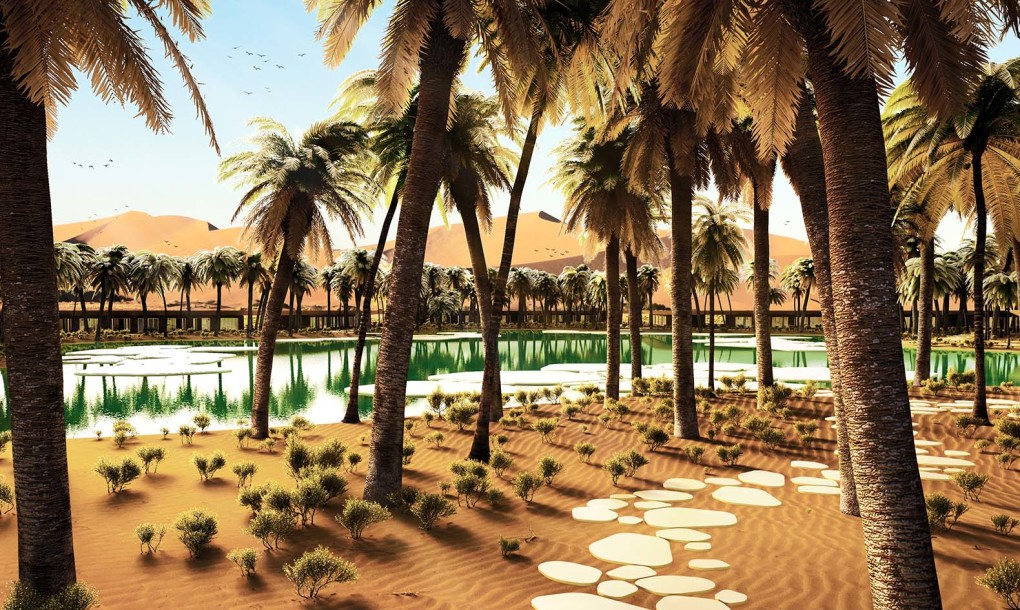 thinking about a perfect holiday destination a desert probably want pop into your mind oasis does sound better indeed add to this a bit of luxury and - The Destination A Luxury Resort
