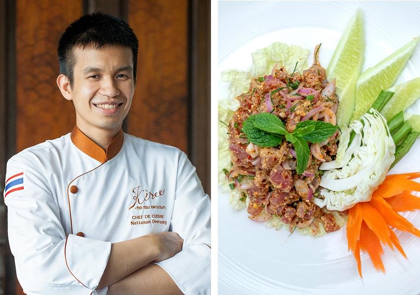 chef-julong-larb-tuna-vana-belle-koh-samui