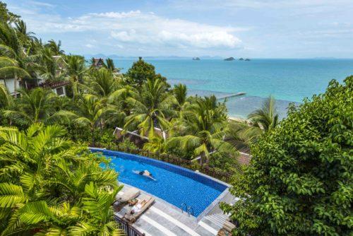 Family time at InterContinental Samui Baan Taling Ngam Resort 2