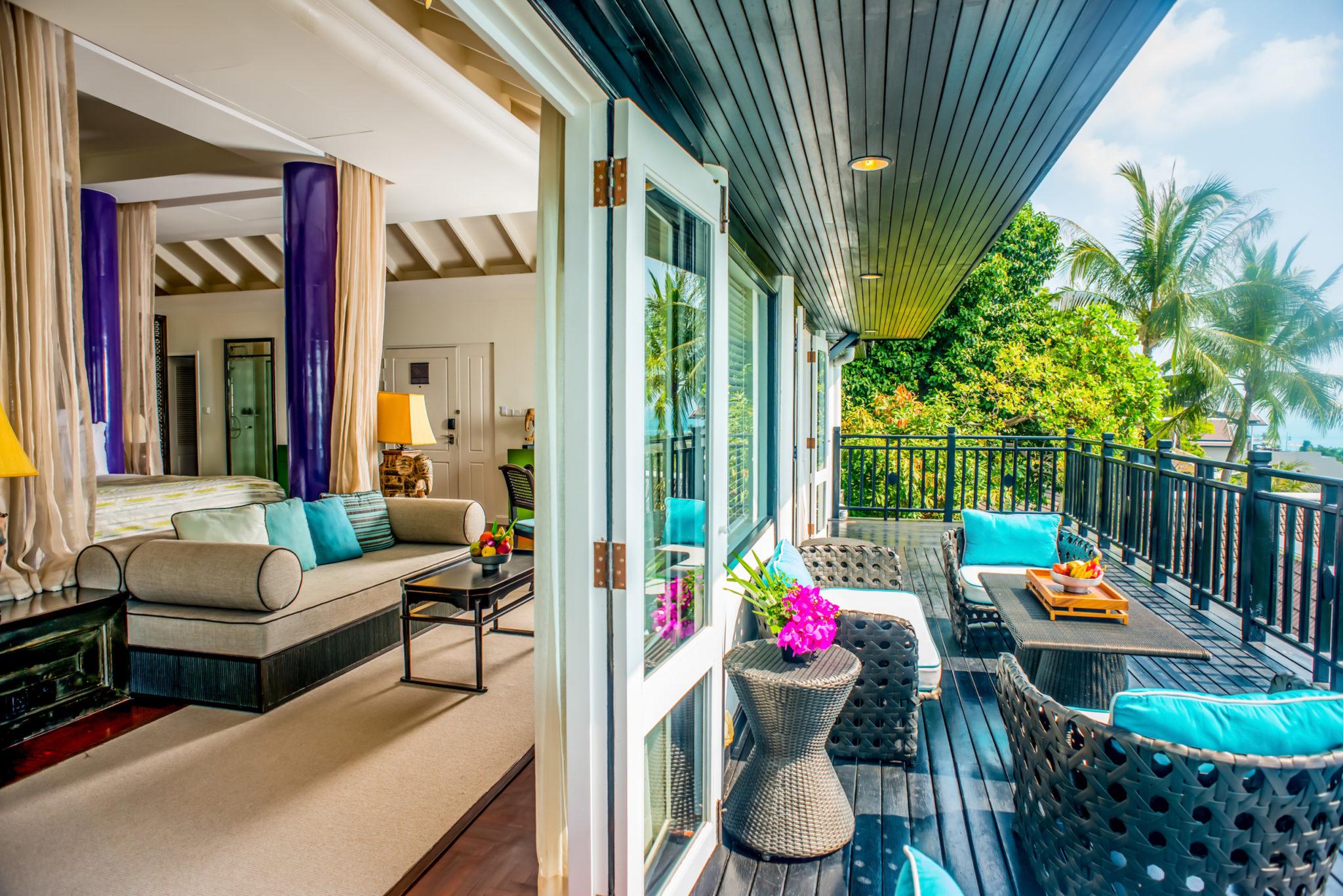 Family time at InterContinental Samui Baan Taling Ngam Resort