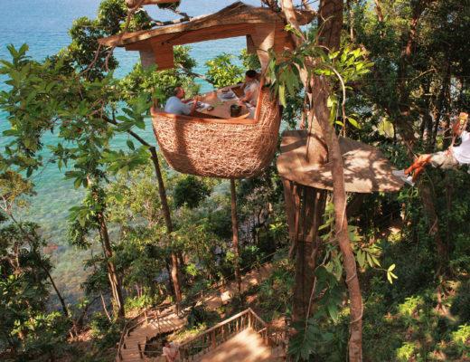 TREEPOD DINING at Soneva Kiri, Koh Kood