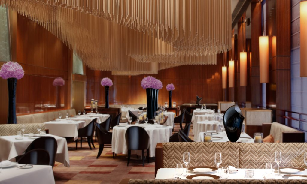 Amber restaurant, The Landmark Mandarin Oriental Hong Kong