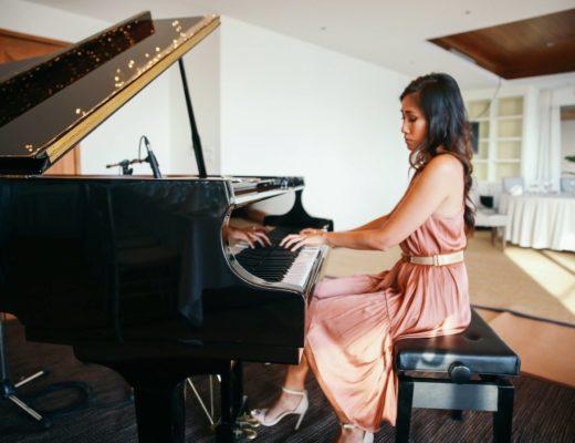 Van Anh Nguyen pianist for NAA Tropival event