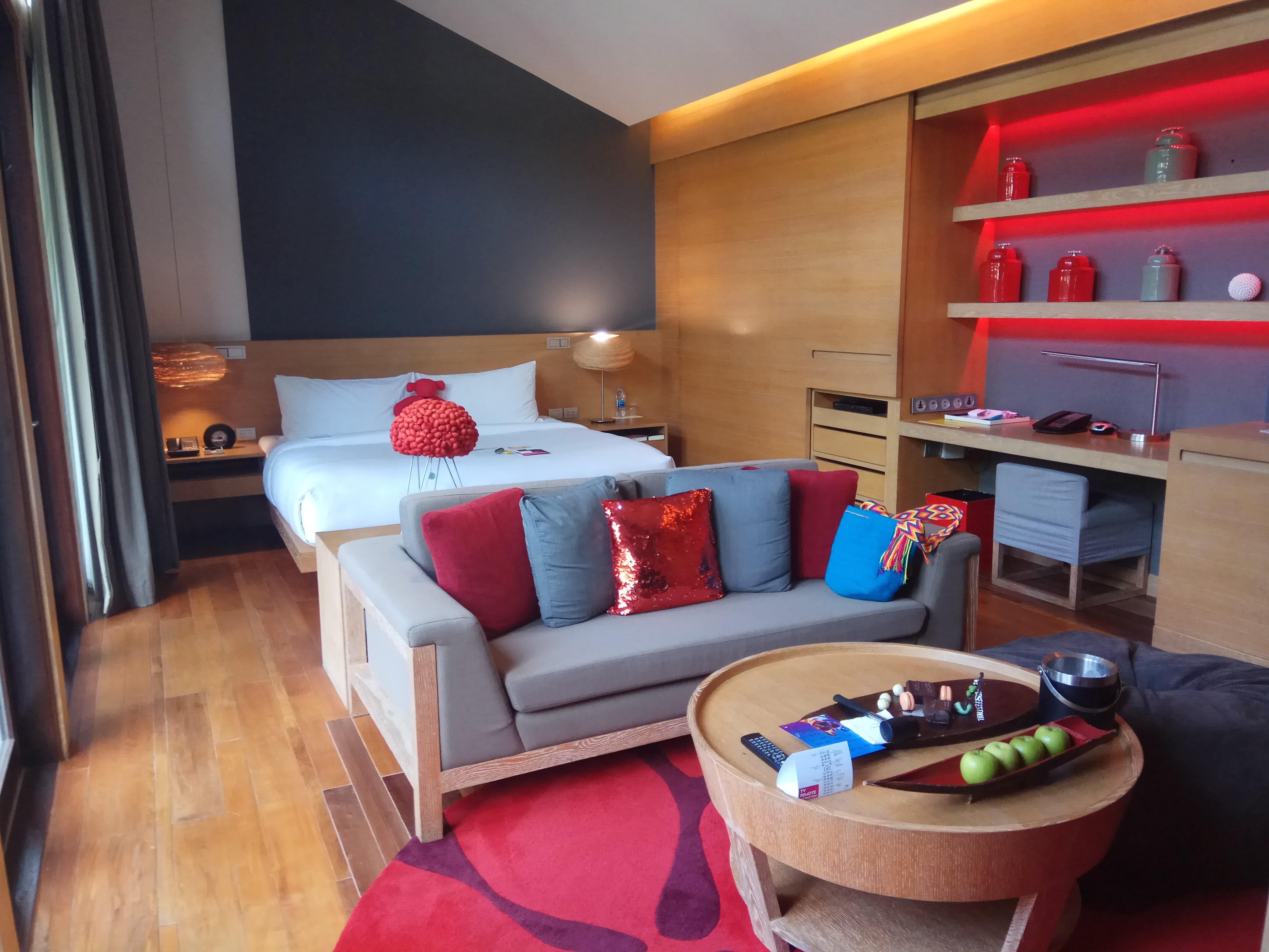 luxury living magazine samui. w koh samui bedroom luxury living magazine