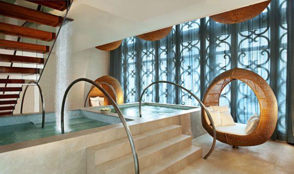 Elemis spa, sauna