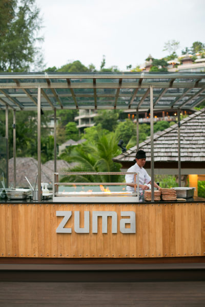 Zuma pop up, grill, barbecue