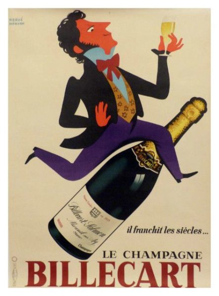poster, Champagne Billecart-Salmon