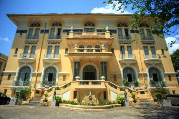 Fine Art museum, vietnam, colonial building