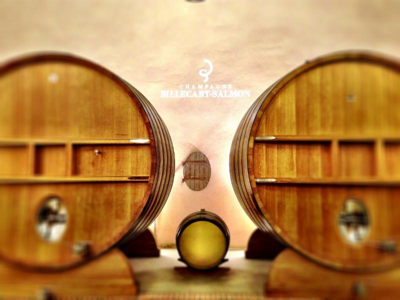 Wine barels, Champagne Billecart-Salmon