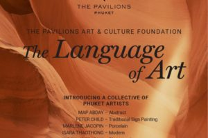 The language of Art, The Pavilions Phuket, art exhibit