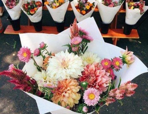 Flowers, gift, bouquet, hampers