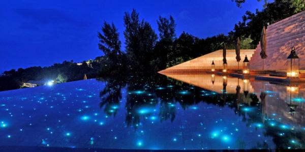 Paresa resort, infinity pool,romantic, valentin's day, dinner